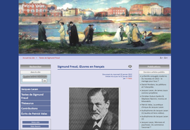 Sigmund Freud, Oeuvres en français - Patrick Valas